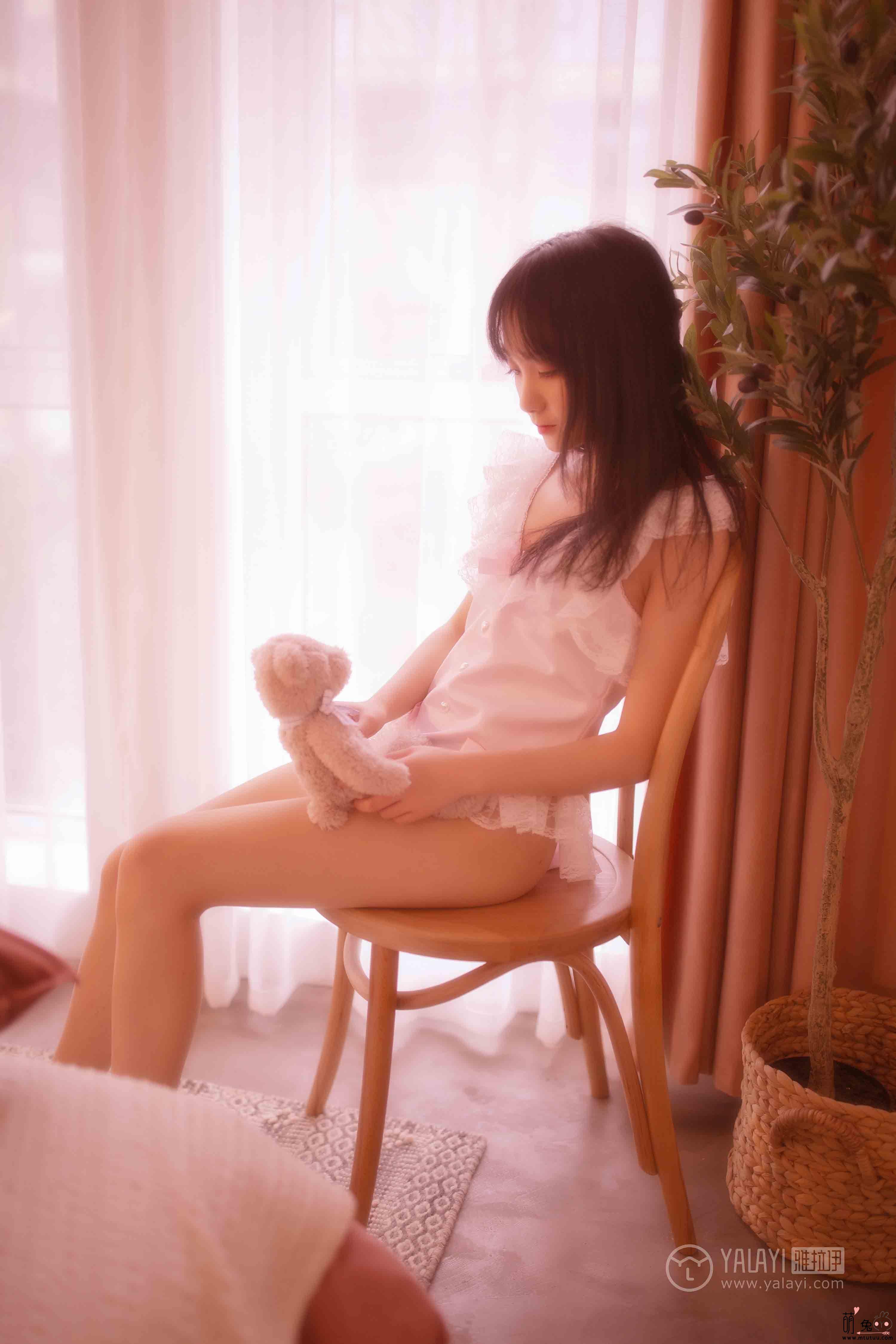 YALAYI雅拉伊No.44-夏夏-薄紗少女(45P 382M)