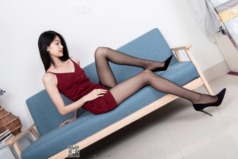 [SSA丝社]超清写真 NO.145 星星 酒红短裙的穿搭示范(周五特惠)[/1.86GB]