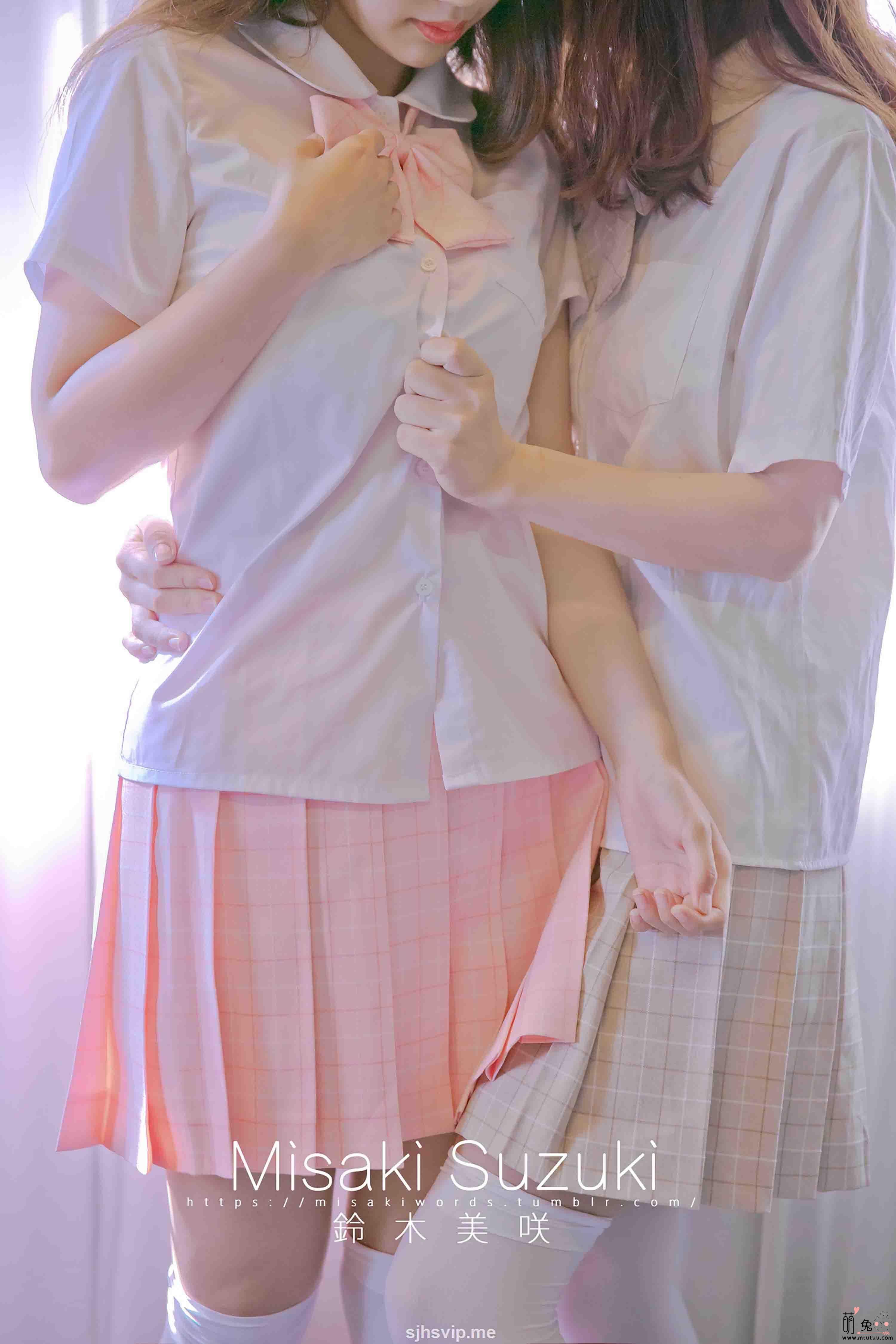 铃木美咲(Misaki Suzuki)软软趴在床单上-前辈和我(56P 120M)
