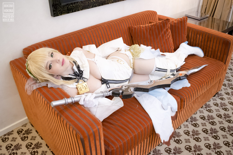 Mikomi Hokina – Saber Nero Bride Regular (Fate Grand Order) + Videos[/2.19GB]